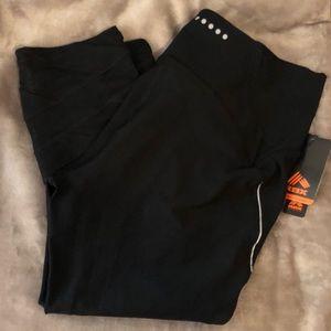 RBX Capri Leggings in Black